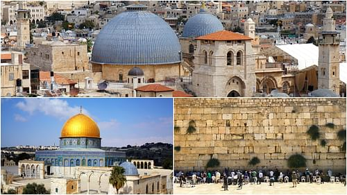 Holy Sites of Jerusalem (by Multiple Authors, See Original Source)