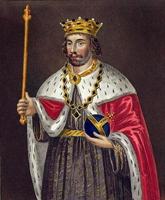 Portrait of Edward II of England (by Unknown Artist, Public Domain)
