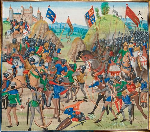 Battle of Crecy, 1346 CE