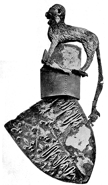 Helmet & Shield of Edward the Black Prince
