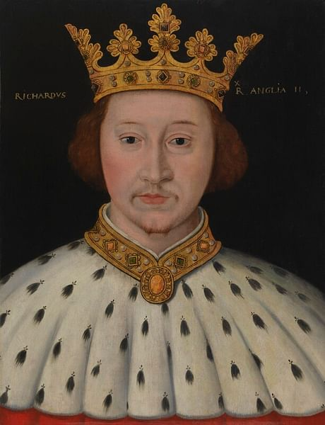 Richard II of England, National Portrait Gallery (by National Portrait Gallery, CC BY-NC-ND)