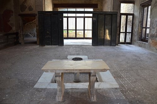 The Atrium of the House of the Wooden Screen, Herculaneum
