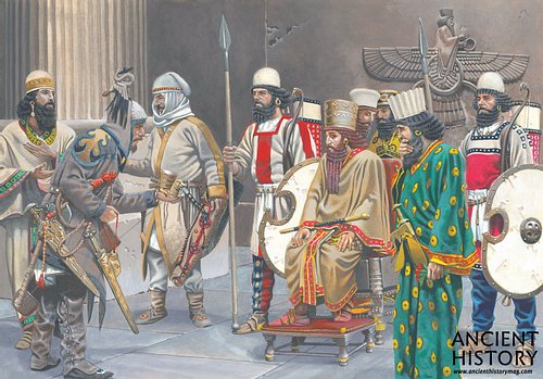Court of Darius the Great