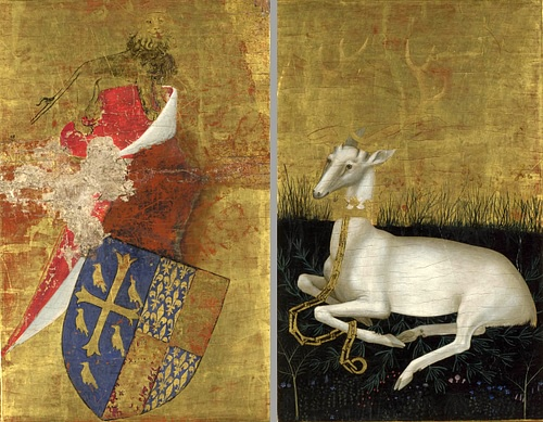 Arms & White Hart of Richard II of England