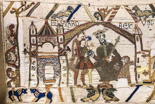 Edward the Confessor, Bayeux Tapestry