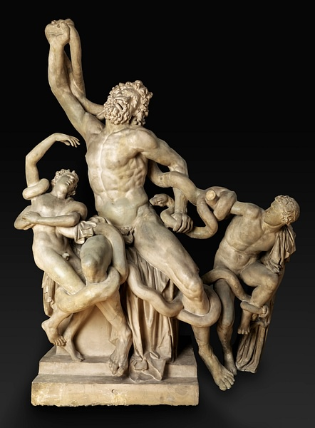 Plaster Copy of the Laocoön Group