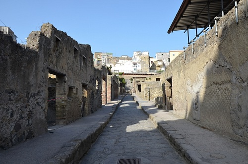 Cardo III at Herculaneum
