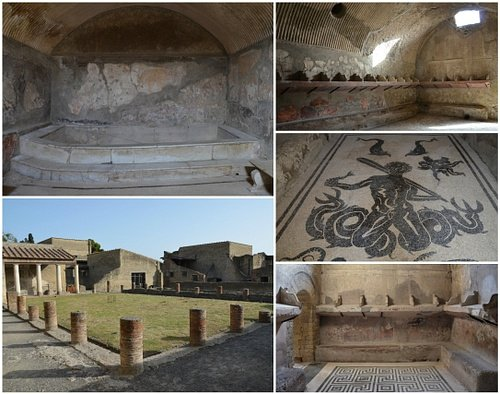The Central Baths at Herculaneum
