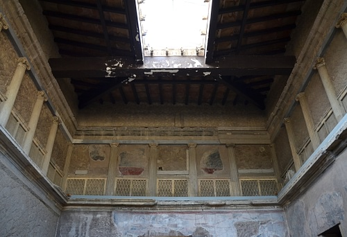 The Samnite House in Herculaneum