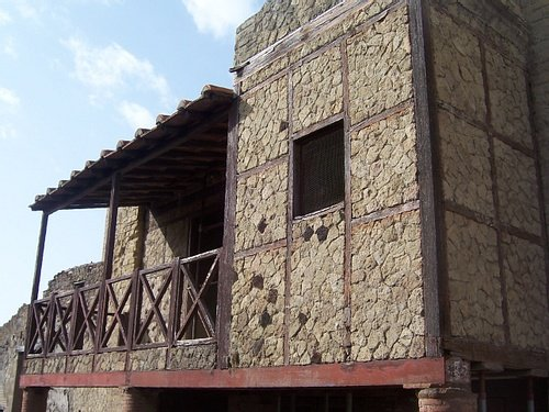 The Trellis House in Herculaneum