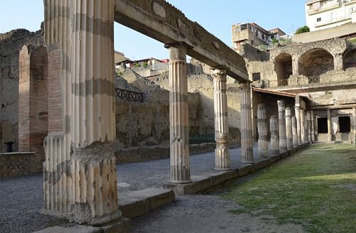 The Palaestra in Herculaneum