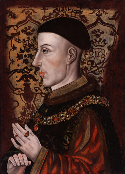 Henry V of England (by Unknown Artist, Public Domain)