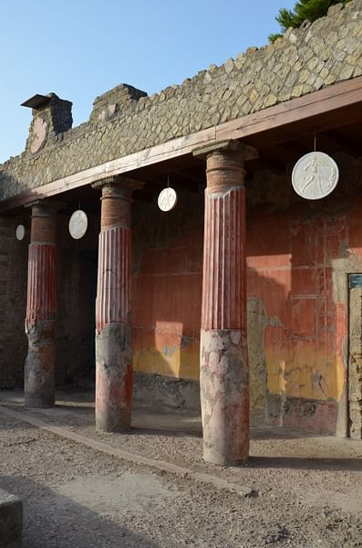 The House of the Relief of Telephus in Herculaneum