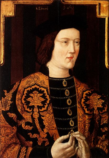 Edward IV of England (by Unknown Artist, Public Domain)
