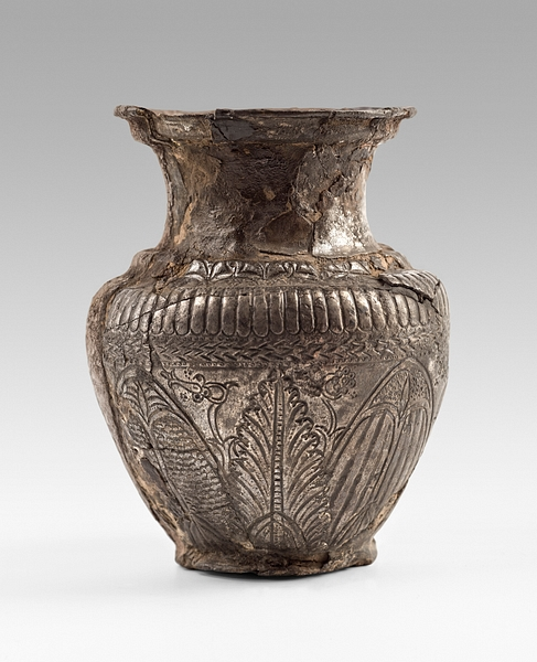 Ptolemaic Silver Wine Vase