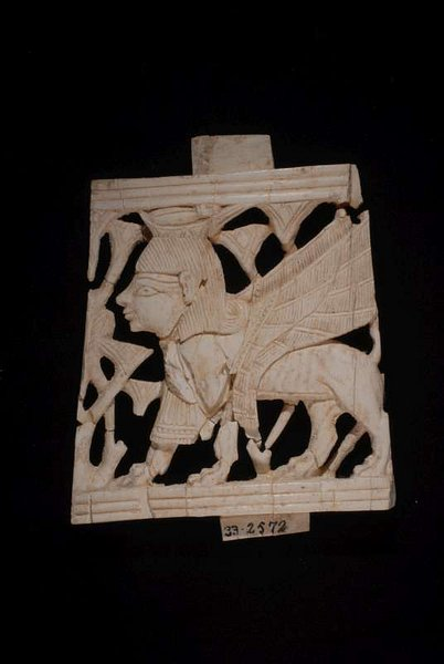 Ivory Furniture Inlay with Sphinx