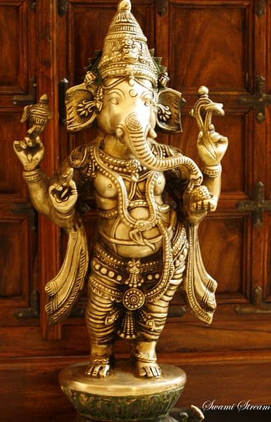 Ganesha Statue (by Swaminathan, CC BY)