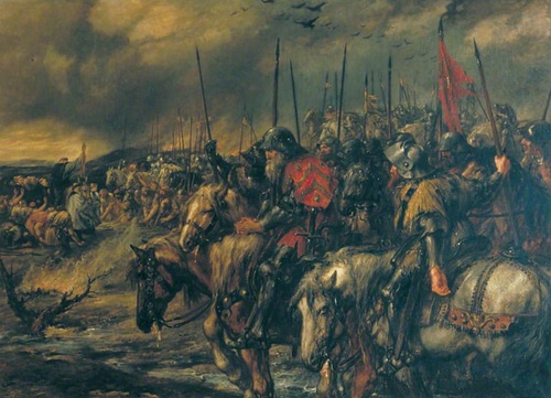 Morning of the Battle of Agincourt