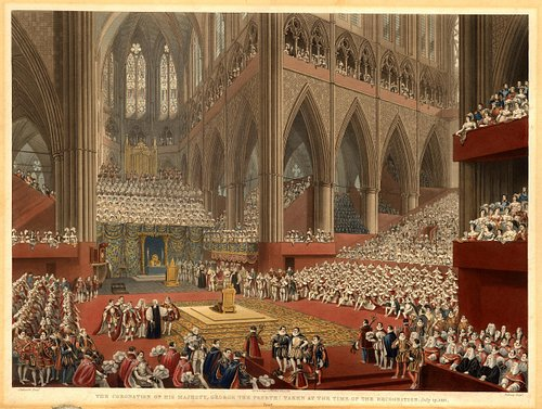 The Coronation of George IV, Westminster Abbey