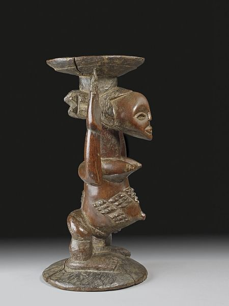 Carved Stool, Luba Kingdom