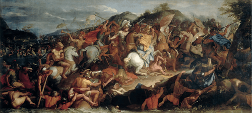 Battle of the Granicus (by Hohum, Public Domain)