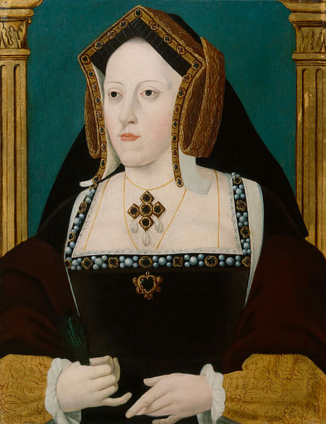 Catherine of Aragon (by Unknown Artist, Public Domain)