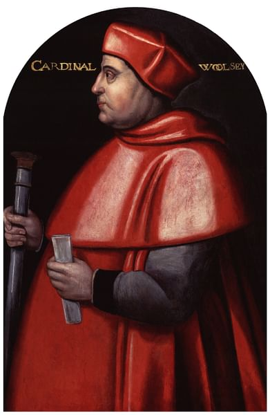 Cardinal Wolsey (by Unknown Artist, Public Domain)