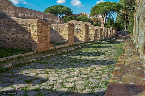 Roman Shop Fronts, Ostia