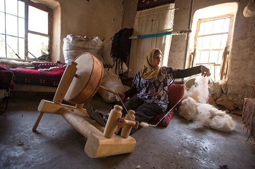 Weaving in Rural Lebanon