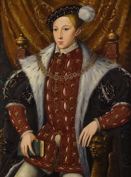 Edward VI of England by William Scrots (by William Scrots, Public Domain)