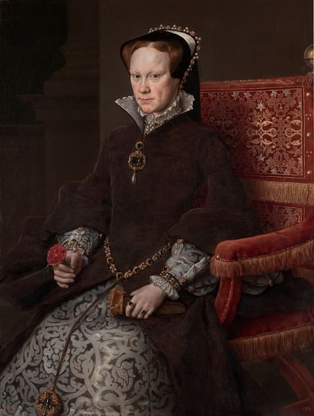 Mary I of England by Antonis Mor (by Antonis Mor, Public Domain)