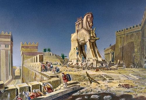 The Trojan Horse (by Tetraktyas, CC BY-SA)