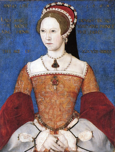 Mary I of England by Master John