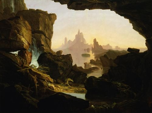 The Subsiding of the Waters of the Deluge (by Thomas Cole / Smithsonian American Art Museum, Public Domain)