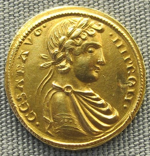 Coin of Frederick II (by Sailko, CC BY-SA)
