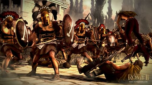 Spartan Warriors (by The Creative Assembly, Copyright)