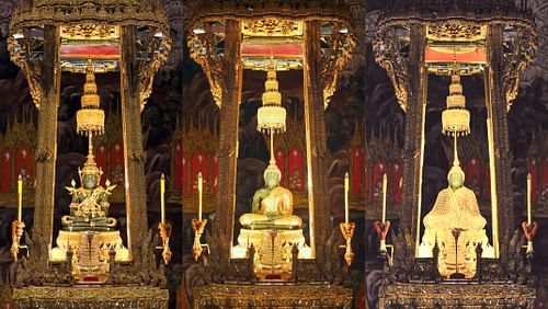 The Emerald Buddha in Seasonal Costumes