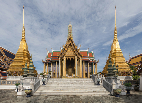 Wat Phra Kaew - Temple of the Emerald Buddha