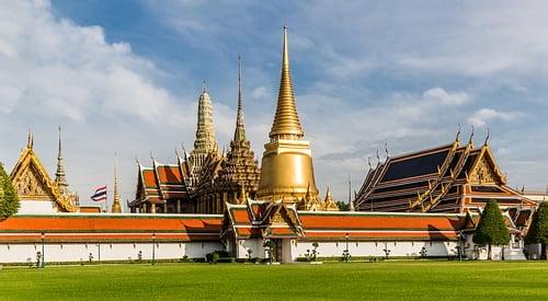Wat Phra Kaew Exterior View