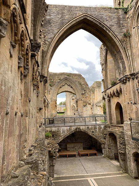The Lady Chapel and St. Joseph's Crypt - Glastonbury Abbey
