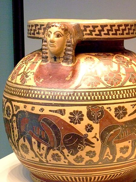 Corinthian Vessel with Protome