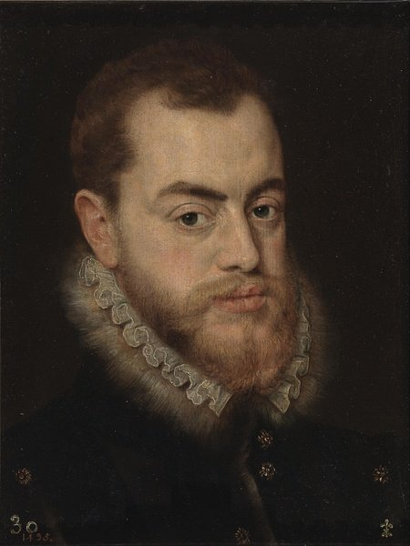 Philip II of Spain by Moro