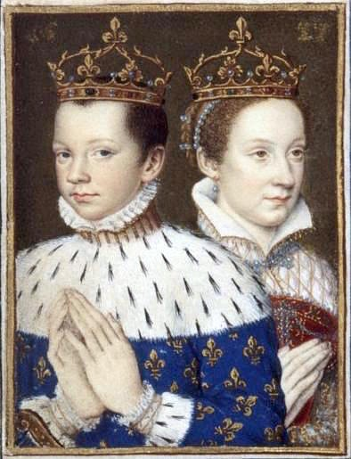 Mary, Queen of Scots & Francis II of France