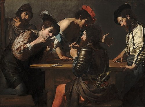Card Players by Valentin de Boulogne