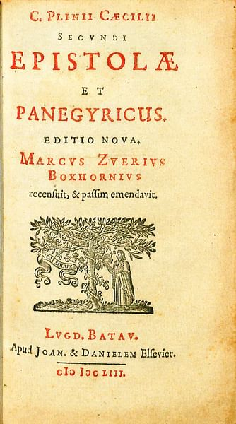 Pliny the Younger's Epistulae and Panergyricus