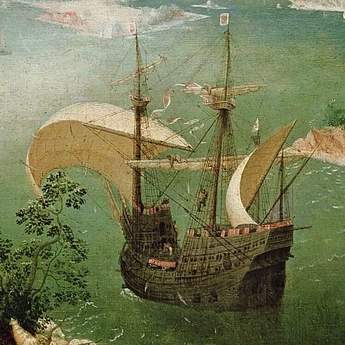 A Carrack Ship by Bruegel