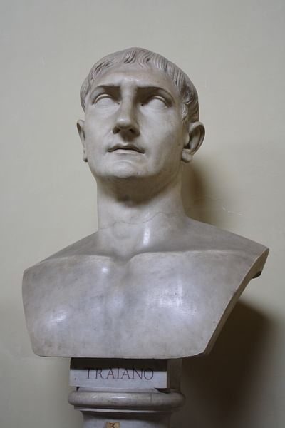 Trajan Bust, Vatican Museums (by Mark Cartwright, CC BY-NC-SA)