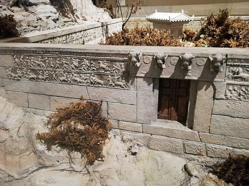 Model of the Heroon of Trysa