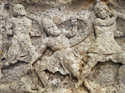 Seashore Battle, Heroon of Trysa