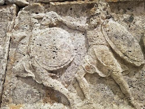 Heroon of Trysa - Detail